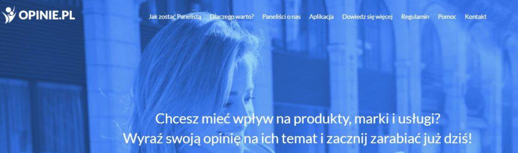 Opinie.pl - zarabianie na ankietach